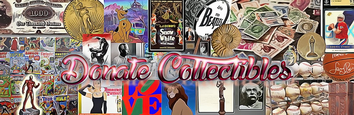 Donate Collectibles to Charity