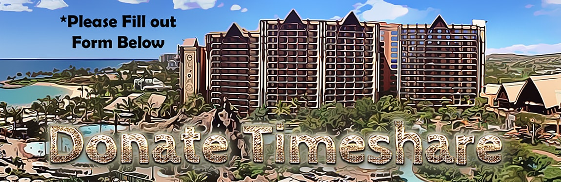 Donate Timeshares to Charity