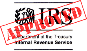 Giving Center is IRS Approved